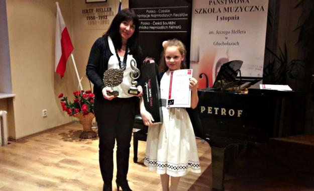 Polsko – Czeskie Konfrontacje Najmłodszych Flecistów w Głuchołazach – I miejsce w grupie młodszej i nagroda Grand Prix